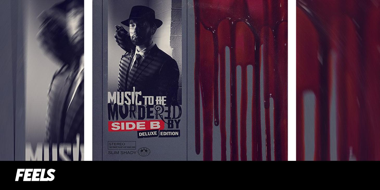 Ο EMINEM ΚΥΚΛΟΦΟΡΕΙ ΤΟ ΑΛΜΠΟΥΜ - ΕΚΠΛΗΞΗ «ΜUSIC TO BE MURDERED BY - SIDE B»