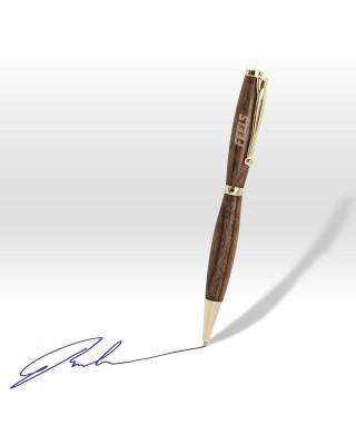 Χειροποίητο στυλό από ξύλο μπουμπίνγκας