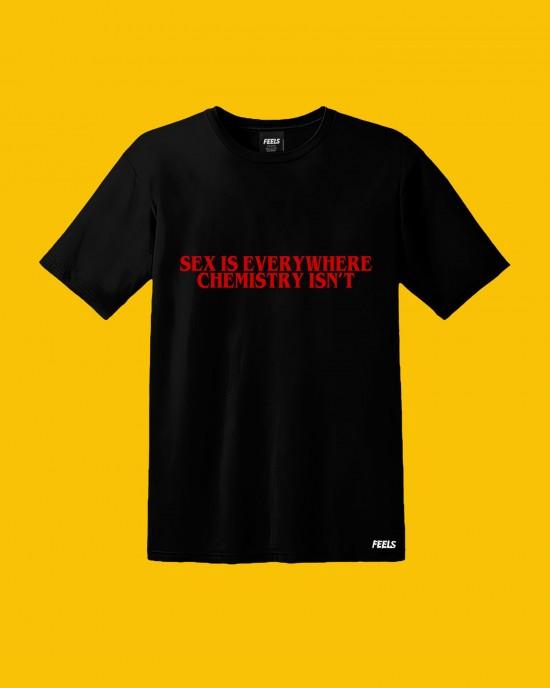 Love Chemistry - T-Shirt Black